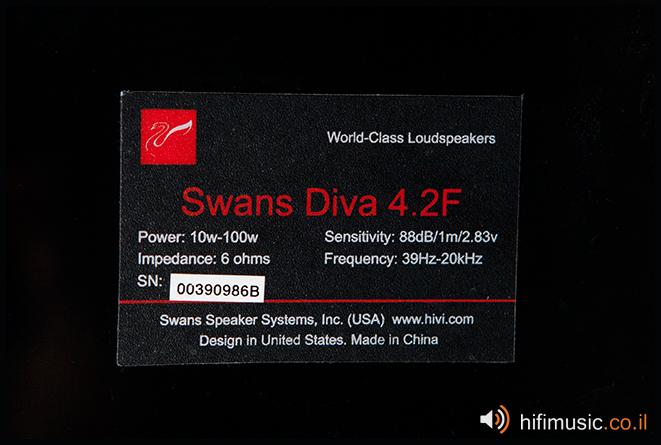 HiVi Swan Diva 4.2