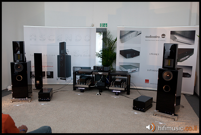 Munich High End 2011 Ascendo Audio Aero