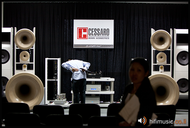 Munich High End 2011 Cessaro TW-Acoustic