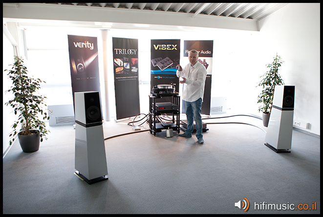 Munich High End 2011 Verity Audio, Trilogy, Fletcher Audio