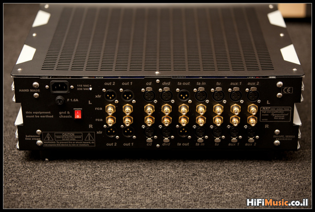 NAT Symmetrical Preamp